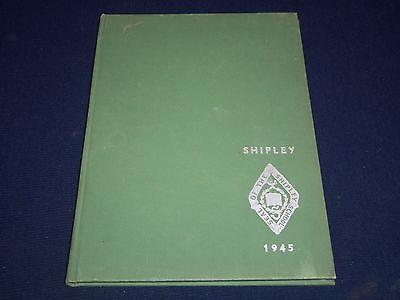 1945 Shipley School Yearbook   Bryn Mawr Pennsylvania   Nice Photos   Yb 802