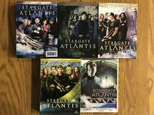 DVD Series: Stargate: Atlantis seasons 1-5