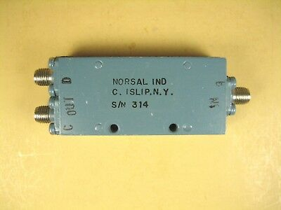Norsal 8121 Power Divider