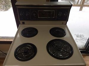 Apartment sized electric stove