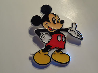 Mickey Mouse Plastic Button Pin Disney