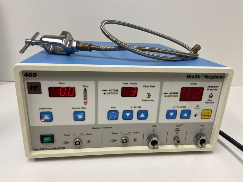 Smith & Nephew 400 40 LPM Insufflator C02 Input Surgery Surgical OR