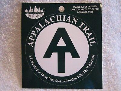 """""""APPALACHIAN TRAIL""""  - SOUVENIR TRAVEL STICKER / DECAL    ~L@@K~"""