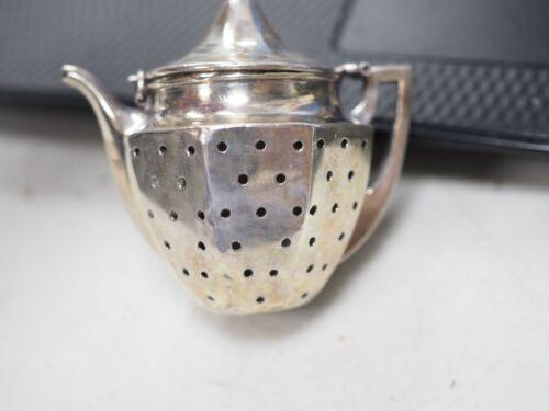 Antique Webster Sterling Silver Tea Kettle Ball Infuser