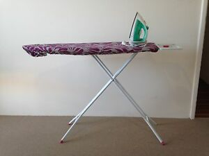 Iron and Ironing Board Golden Bay Rockingham Area Preview