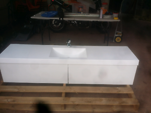 Bathroom vanity 1400x460x400mm wall mounted South Brighton Holdfast Bay Preview