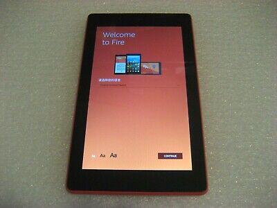"Amazon Kindle Fire 7 (7th Generation), 8GB, Wi-Fi, 7"", Red,  SR043KL"