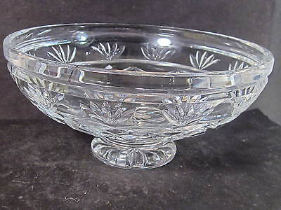 Waterford Crystal FOOTED CANDY DISH  3
