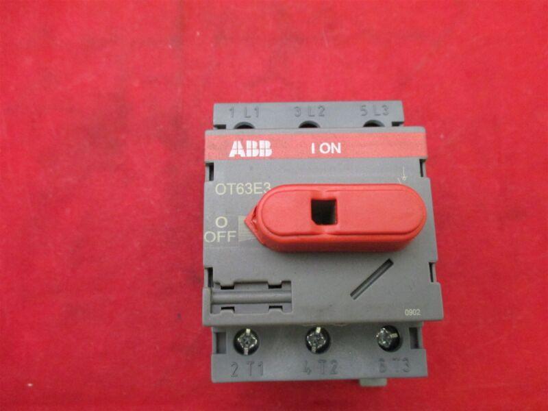 ABB OT63E3 Contactor