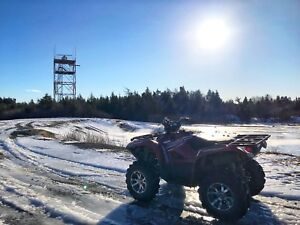 2016 Yamaha Grizzly 700 Limited Edition