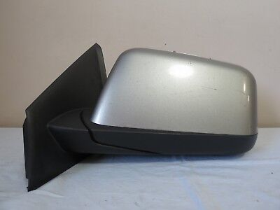 08-09 Ford Edge POWER Manual Fold Side View Door Mirror Left DRIVER Silver OEM