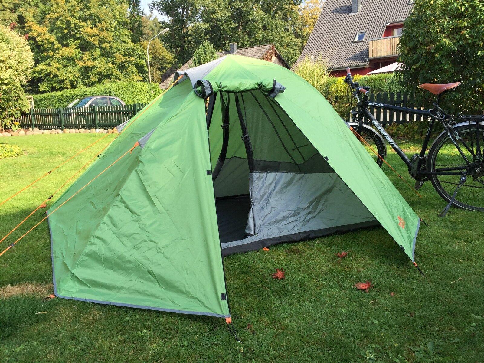 Zelt 2 Personen Leicht Kleines Packmaß : Leicht zelt personen trekking camping kleines packmaß