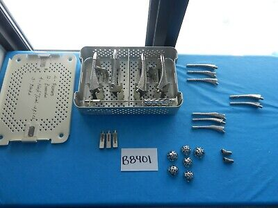 Stryker Howmedica Surgical Orthopedic Rasp Set W Case
