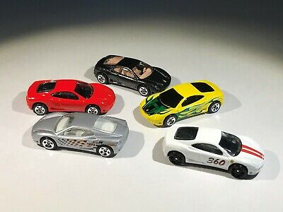 Hot Wheels Ferrari 360 Modena Lot of 5 Loose