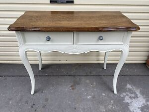 French Side Hall Table Provincial Drawers Buffet