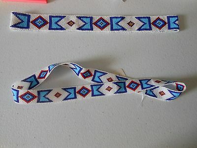 BILLY JACK MOVIE REPLICA HANDLOOMED BEADED HATBAND (NARROW) - Continuous Circle