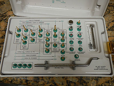 Dental Implant Surgical Kit Steri-oss Baush Lomb