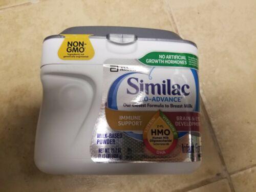 Similac Pro-Advance HMO Infant Formula 0-12 months 23.2oz 4cans 2022