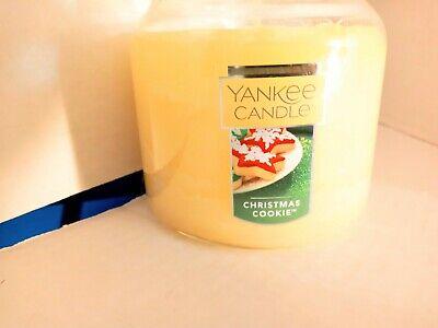 A1208 Yankee Candle CHRISTMAS COOKIE 14.5 oz Medium Jar New