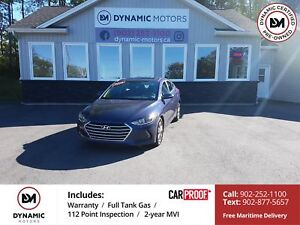 2018 Hyundai Elantra GL SE Sunroof! Loaded! OWN FOR $138 B/W,...