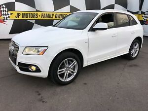 2014 Audi Q5 3.0L Technik S-LINE, Navi,  Leather, Diesel, AWD