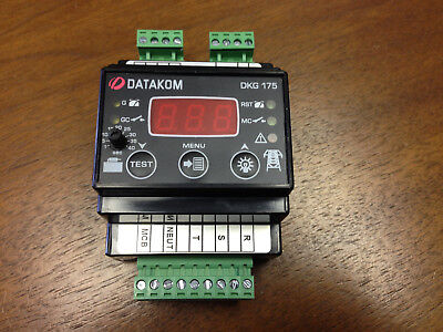 Datakom Automatic Transfer Switch Replacement Controller For 120240 208vac
