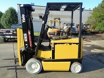 Used Electric Forklift 2008 Yale Erc050. 5000