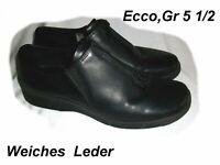 Ecco,schwarze Leder Schuhe mit Reißverschluß,Gr. 38,5 Schleswig-Holstein - Norderstedt Vorschau