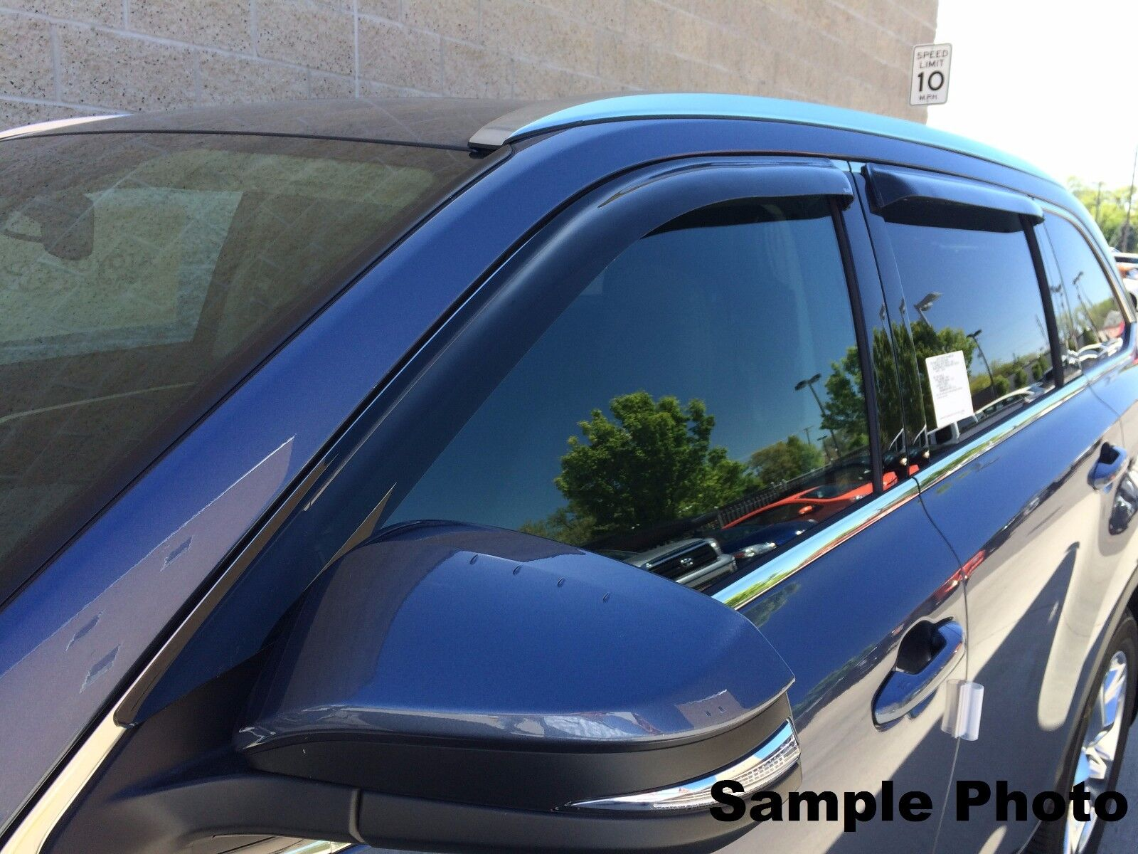 Used Wind Deflectors For The Ford Edge Limited