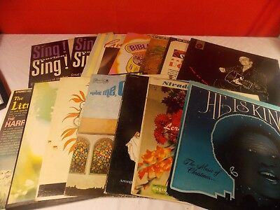 14 Jazz Rock (Lot of 14 40's 50's 60's Albums Classical, Jazz Pop Country Christmas some Rock )