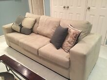 Macrosuede couch and ottoman Palmyra Melville Area Preview