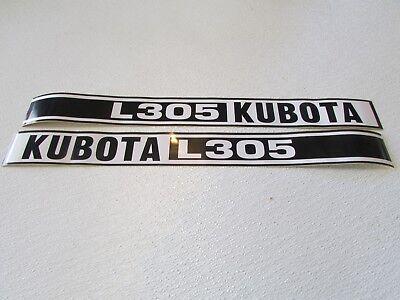 Kubota L305 Tractor Decal Set