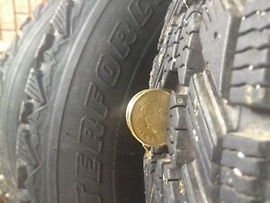 Uniroyal Winter Force tires (205-75-R14 )