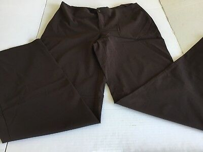 Pier Antonio Gaspari Brown Stretchable Pants .Size 14(US) 48(IT) Made in Italy