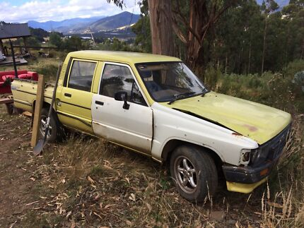 1986 hilux dual cab Huonville Huon Valley Preview