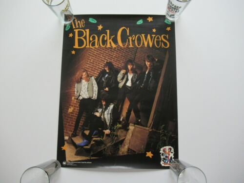 VINTAGE 1990 BLACK CROWES SHAKE YOUR MONEY MAKER 24x18 RECORD STORE PROMO POSTER