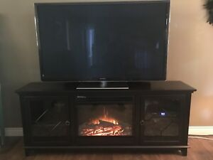 TV Stand Fireplace