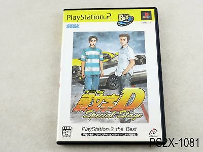 Initial D Special Stage Best Playstation 2 Japanese Import Japan PS2 US Seller B