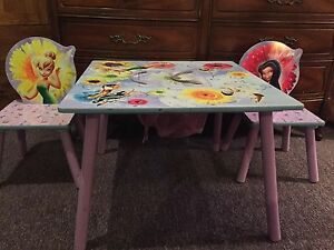TinkerBell Table Set (Wooden)