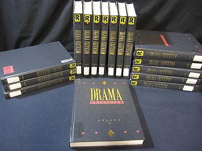 Drama Criticism: Vols. 1-16 Gale Publishing (1991-2002)
