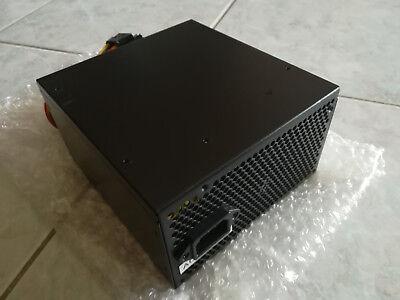 ALIMENTATORE PC DESKTOP ATX DRAGONPOWER 600W SILENZIOSO VENTOLA DA 14CM NERO