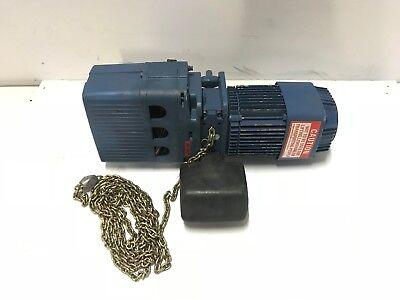 Demag Cranes Dkun 5-500 K V1 F4 1100 Lbs Electric Crane Chain Hoist 460v