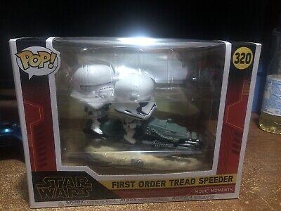 New Pop Star Wars Movie Moment First Order Tread Speeder #320 Funko Vinyl