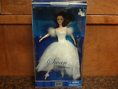 2001 Mattel Barbie #53867 Swan Ballerina from Swan Lake Classic Ballet Series
