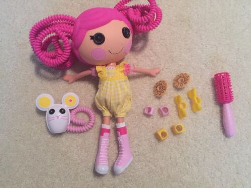 Lalaloopsy Original Full Sz SILLY HAIR CRUMBS SUGAR COOKIE MOUSE Pet Complete  - $8.99