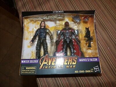 Marvel Legends Avengers Infinity War - Winter Soldier & Falcon 2-Pack New