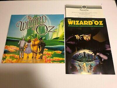 THE WIZARD OF OZ THEATER PROGRAM 1997 ~ MADISON SQUARE GARDEN + 2001 (The Wizard Of Oz Madison Square Garden)