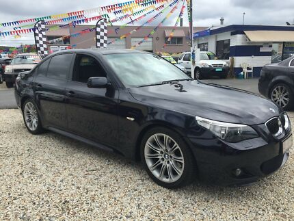 2006 BMW 530d sedan, leather, sunroof, satnav