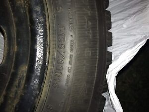 Winter tires -15in tires and rims great condition