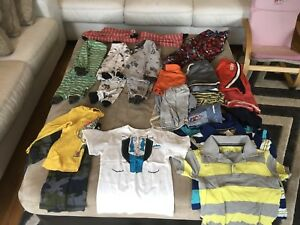 2t clothing lot with 3t pjammas